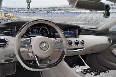 First Drive Review - 2015 Mercedes-Benz S550 Coupe 97