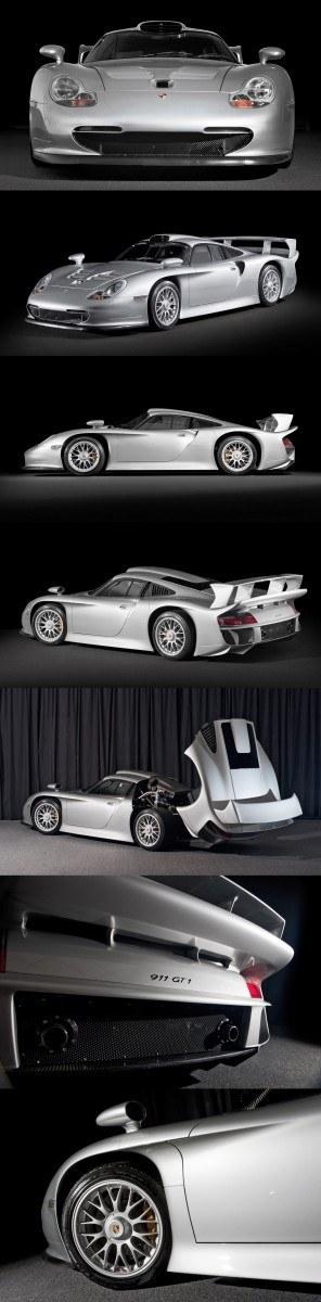 LeMans Homologation Specials - 1998 Porsche 911 GT1 Evo Strassenversion 32-vert