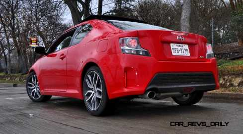 Road Test Review - 2015 Scion tC 6-Speed With TRD Performance Parts 63