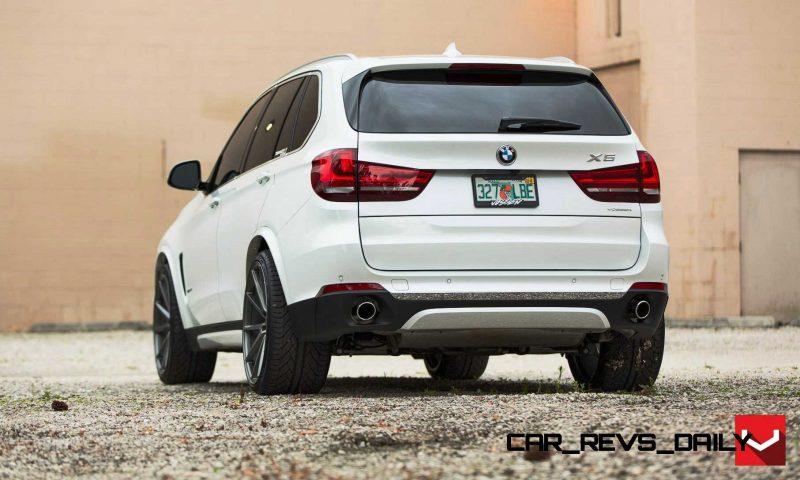 VOSSEN VFS1 Wheels on 2015 BMW X5 sDrive35i M Sport 2