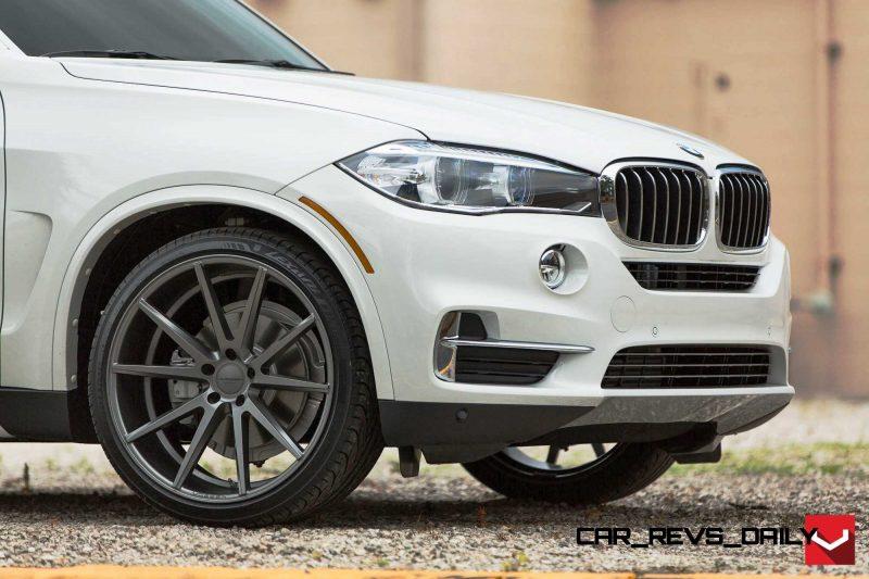 VOSSEN VFS1 Wheels on 2015 BMW X5 sDrive35i M Sport 27