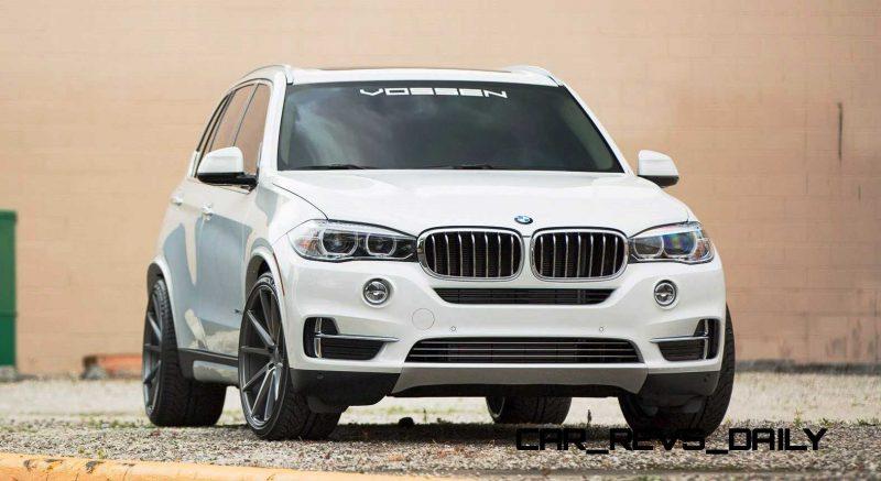 VOSSEN VFS1 Wheels on 2015 BMW X5 sDrive35i M Sport 8