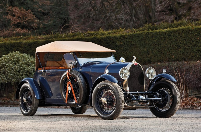 1929 Bugatti Type 44 Grand Sport 1