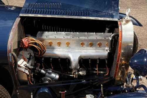 1929 Bugatti Type 44 Grand Sport 19