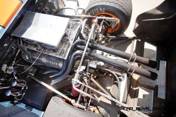 1968 Ford GT40 Gulf Mirage Lightweight LM Racecar 13