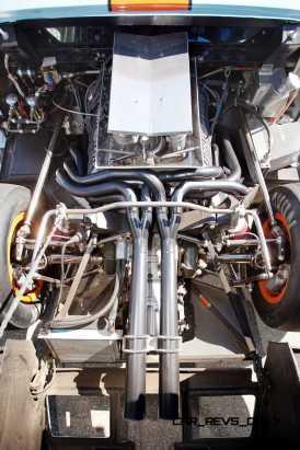 1968 Ford GT40 Gulf Mirage Lightweight LM Racecar 22