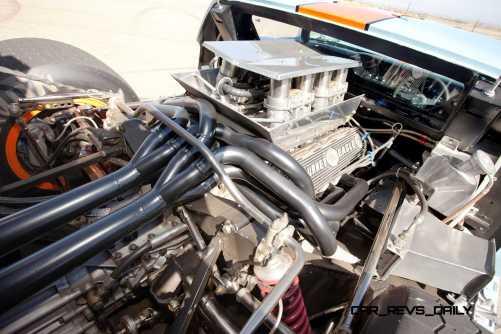 1968 Ford GT40 Gulf Mirage Lightweight LM Racecar 3
