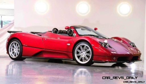 2005 Pagani Zonda S Roadster 1