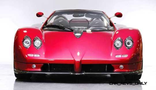 2005 Pagani Zonda S Roadster 11