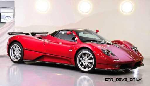 2005 Pagani Zonda S Roadster 15