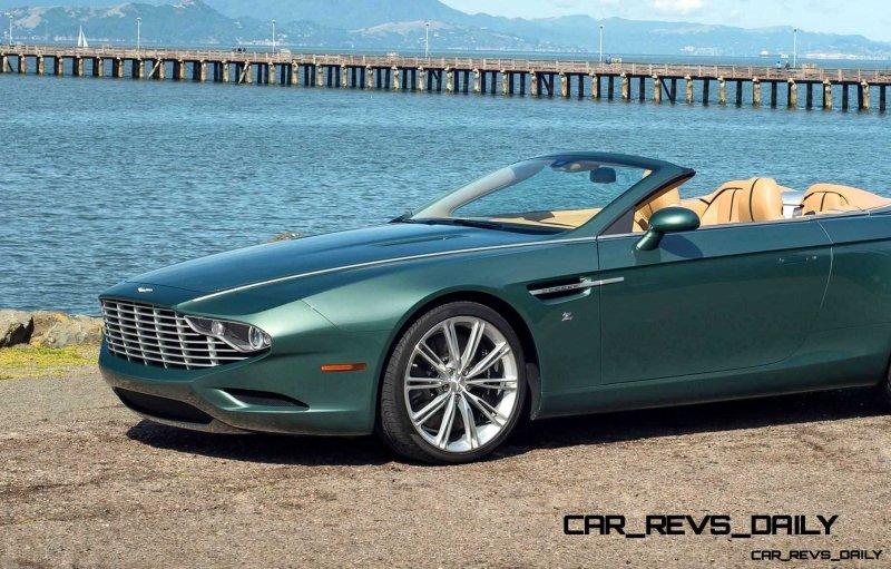 2013 Aston Martin ZAGATO DB9 Centennial Spyder 26