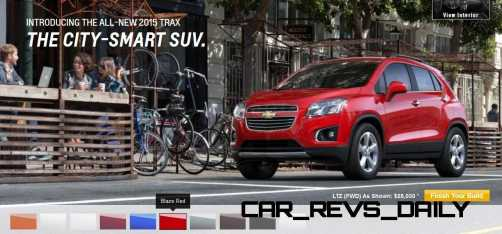 2015 Chevrolet Trax Colors and Wheels 10
