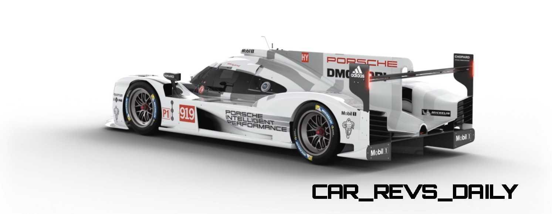 2015 Porsche 919 Hybrid 360-degree Turntable Images 44