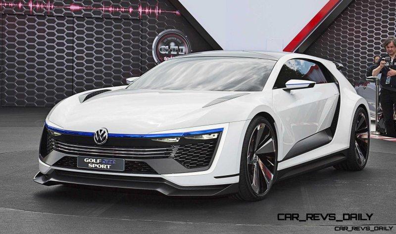 2015 VW Golf GTE Sport Concept 2