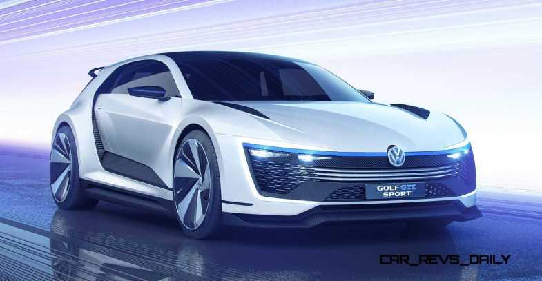 2015 VW Golf GTE Sport Concept 26