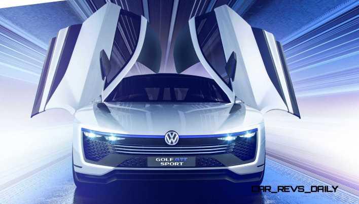 2015 VW Golf GTE Sport Concept 30