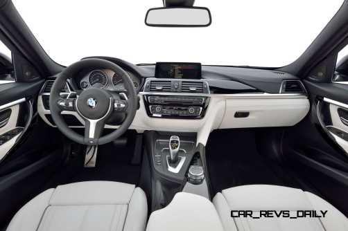 2016 BMW 3 Series Interiors 17