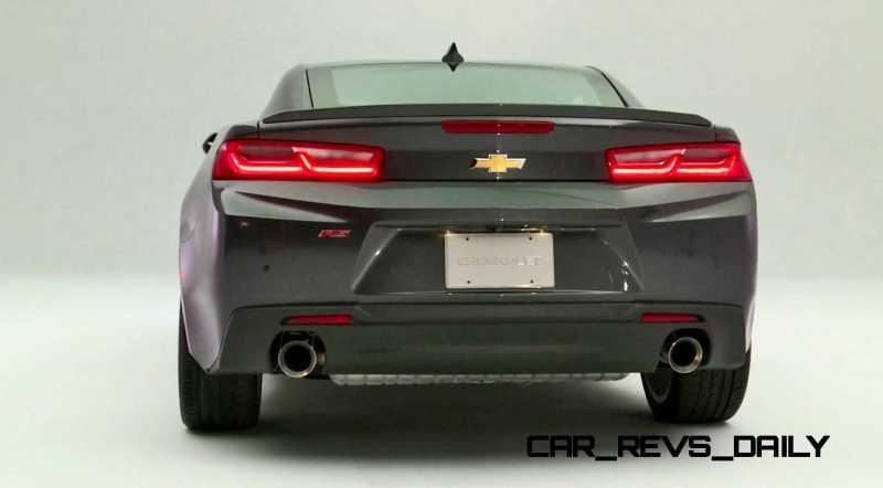 2016 Chevrolet Camaro Flyaround Studio Photos 23
