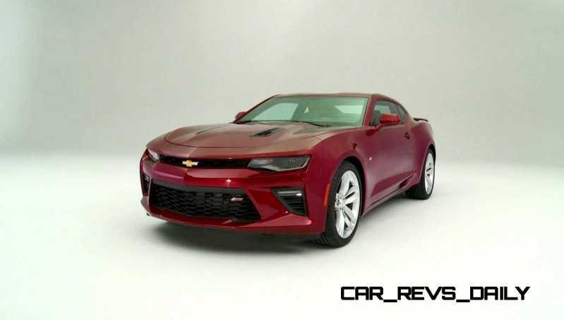 2016 Chevrolet Camaro Flyaround Studio Photos 32