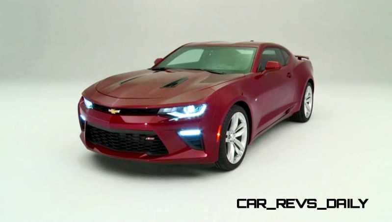 2016 Chevrolet Camaro Flyaround Studio Photos 37