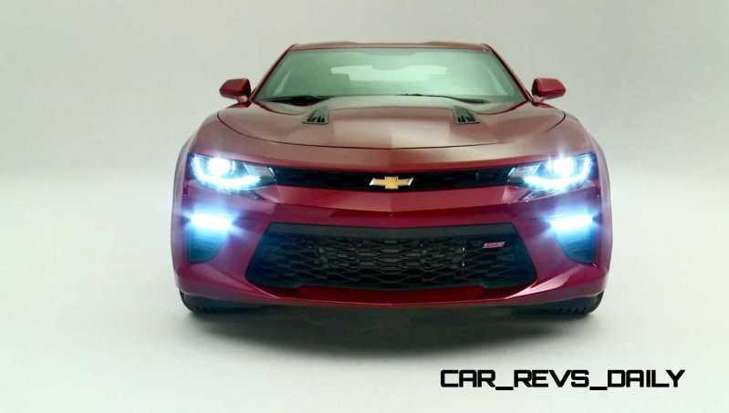 2016 Chevrolet Camaro Flyaround Studio Photos 53