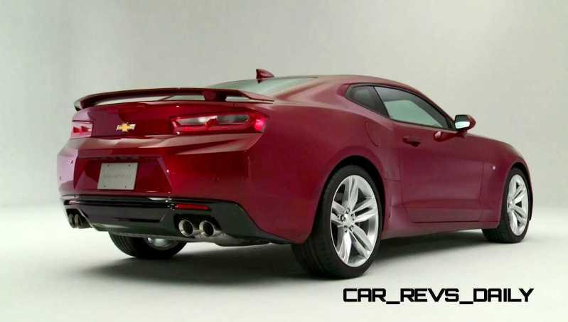 2016 Chevrolet Camaro Flyaround Studio Photos 65