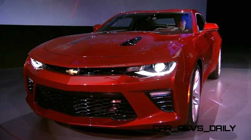 2016 Chevrolet Camaro Live Reveal 11