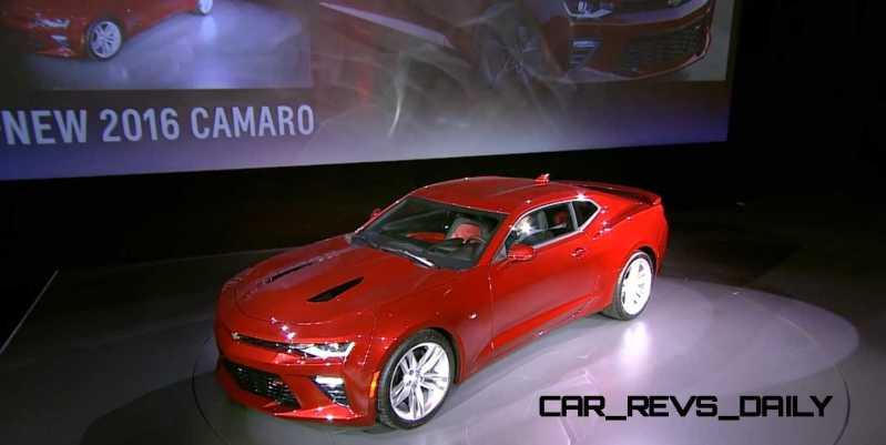 2016 Chevrolet Camaro Live Reveal 12