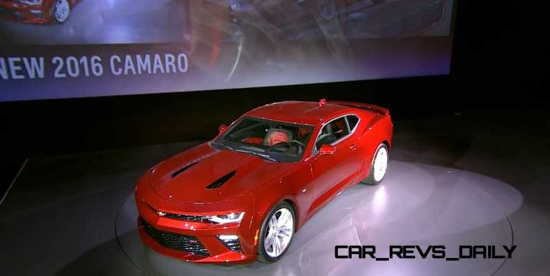 2016 Chevrolet Camaro Live Reveal 13