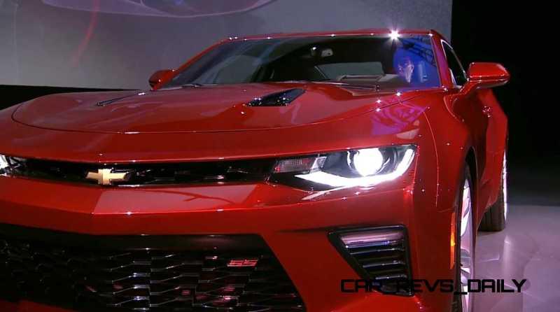 2016 Chevrolet Camaro Live Reveal 25