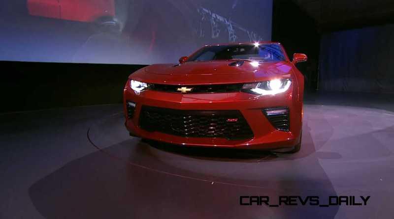2016 Chevrolet Camaro Live Reveal 30