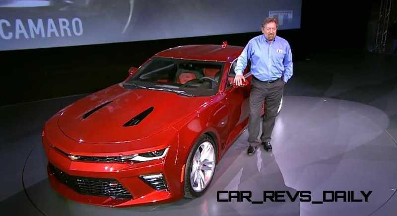 2016 Chevrolet Camaro Live Reveal 38