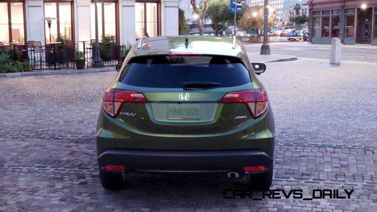 2016 Honda HR-V - Misty Green Pearl 14