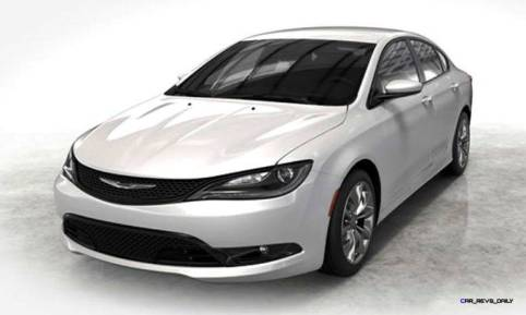 2015 Chrysler 200S Colors 2