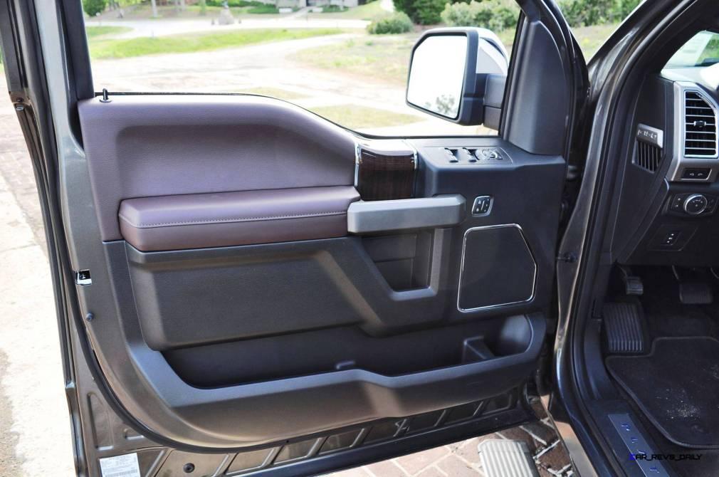 2015 Ford F-150 Platinum 4x4 Supercrew Review 106