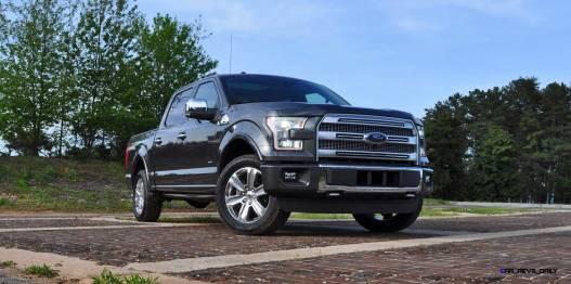 2015 Ford F-150 Platinum 4x4 Supercrew Review 15