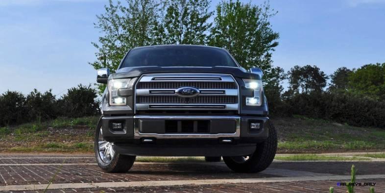 2015 Ford F-150 Platinum 4x4 Supercrew Review 29