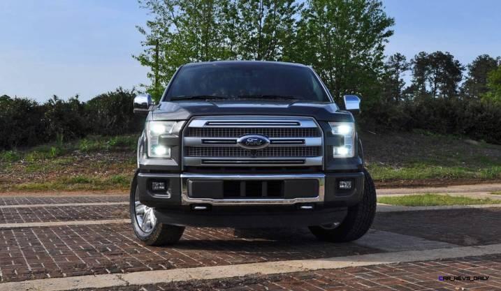 2015 Ford F-150 Platinum 4x4 Supercrew Review 31