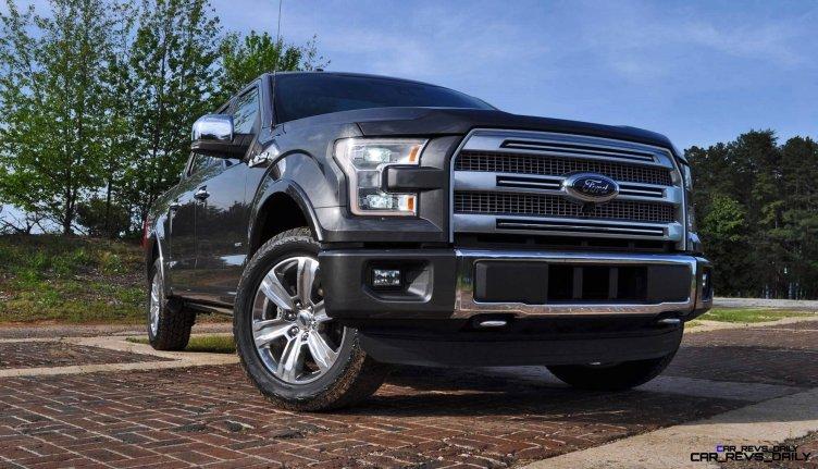 2015 Ford F-150 Platinum 4x4 Supercrew Review 34