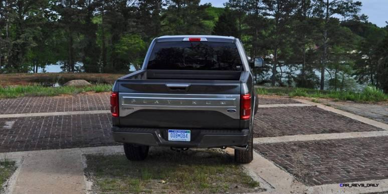 2015 Ford F-150 Platinum 4x4 Supercrew Review 84
