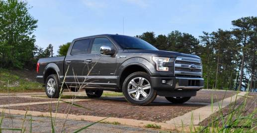 2015 Ford F-150 Platinum 4x4 Supercrew Review 9