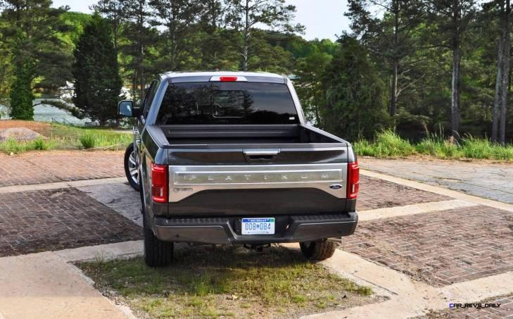 2015 Ford F-150 Platinum 4x4 Supercrew Review 92
