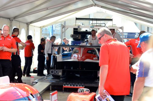 Nissan at Le Mans 2015: Scrutineering Session