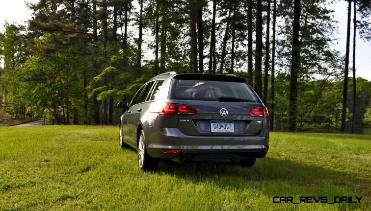 2015 VW Golf Sportwagen TDI SE 72
