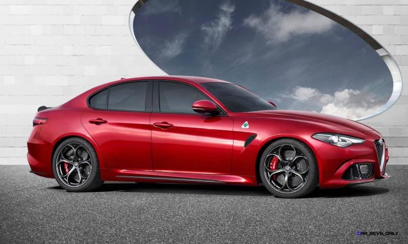 2016 Alfa Romeo GUILIA Quadrifoglio 4