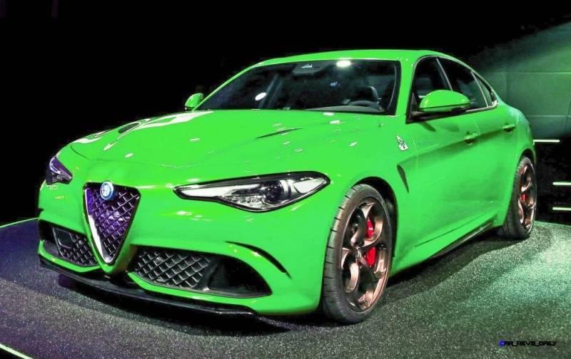 2016 Alfa Romeo Giulia Color Test 16