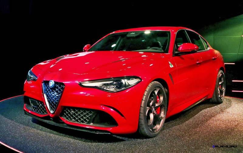 2016 Alfa Romeo Giulia Color Test 4