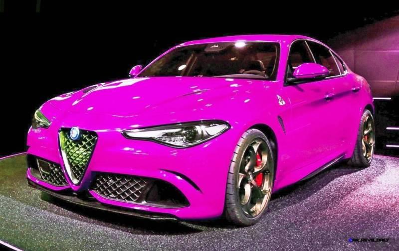 2016 Alfa Romeo Giulia Color Test 9