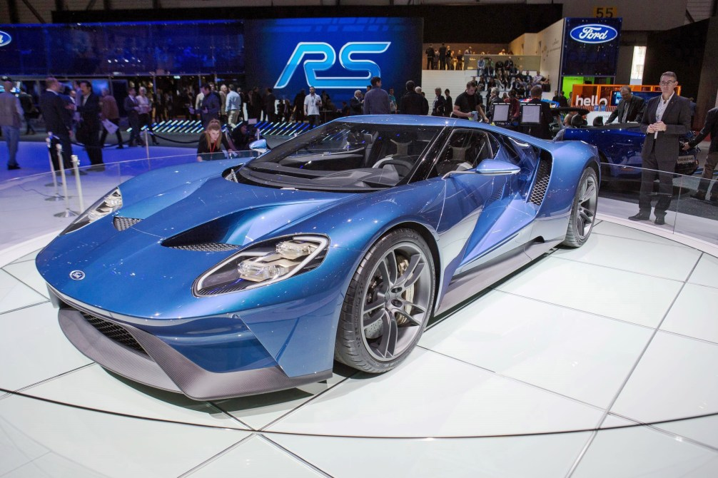 2017 Ford GT Blue New 13