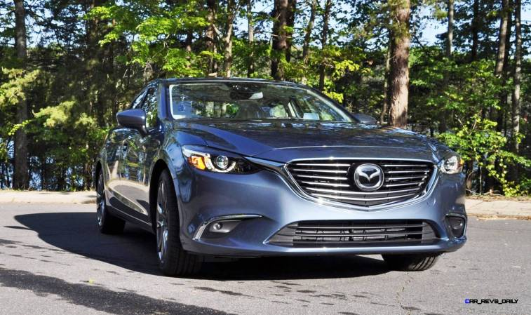 HD Drive Review Video - 2016 Mazda6 Grand Touring 83
